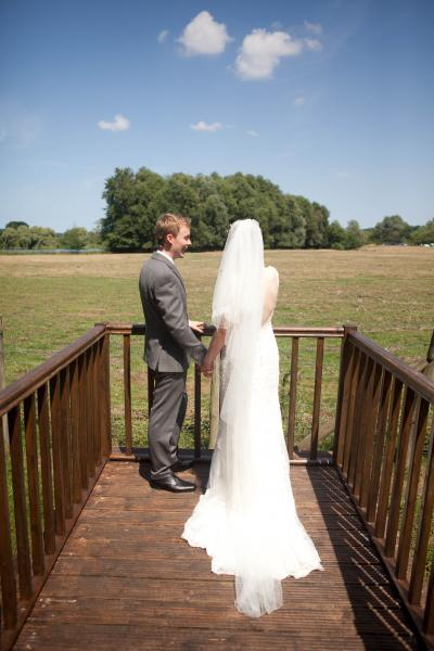 wedding couple howfield manor kent