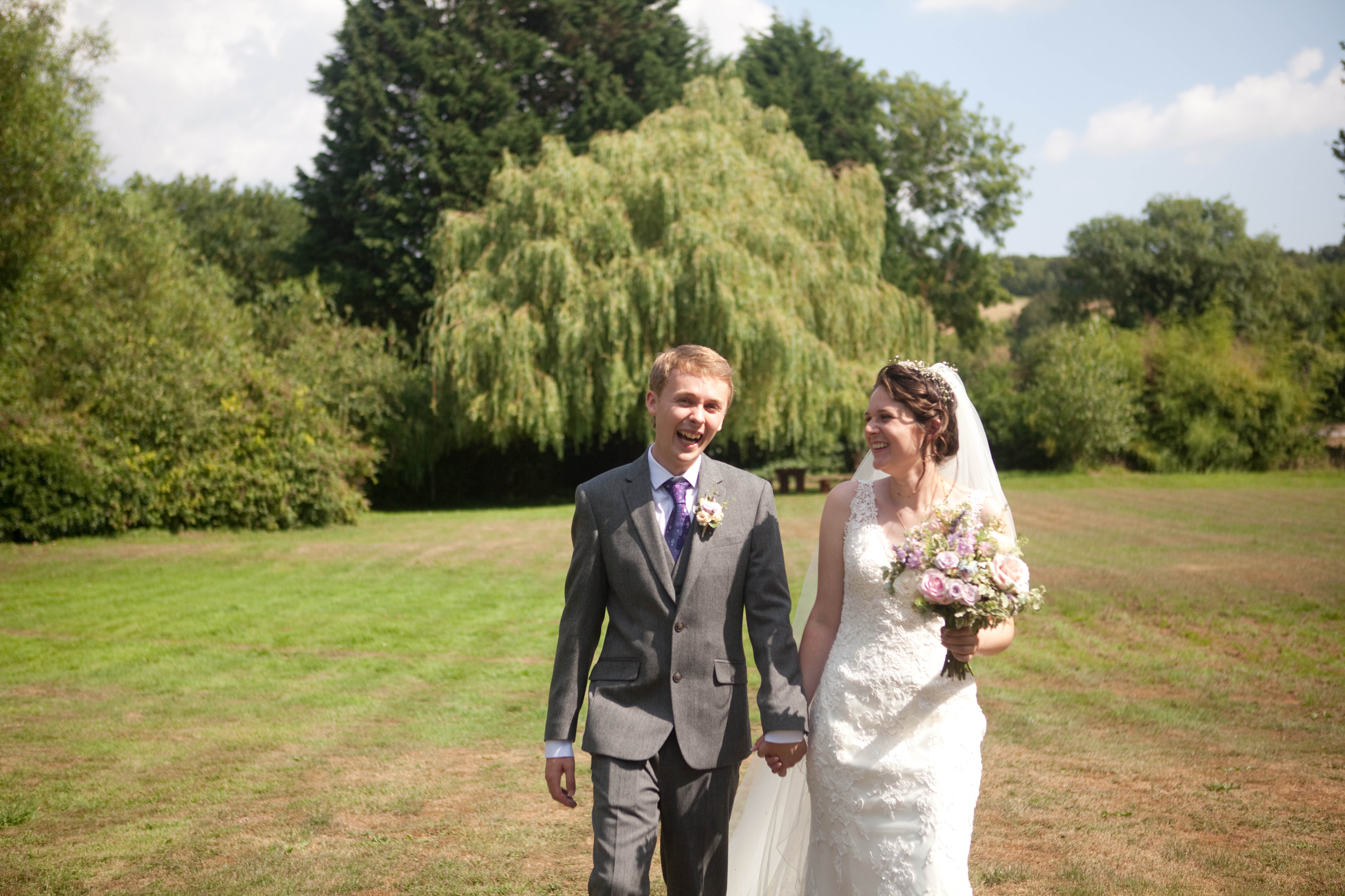 wedding couple howfield manor