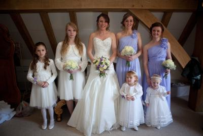 bridal party old kent barn folkestone