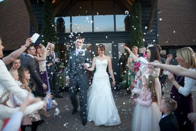 old kent barn confetti shot