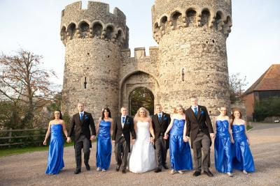 bridal party cooling castle rochester